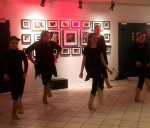 danseopvisning i LineDance